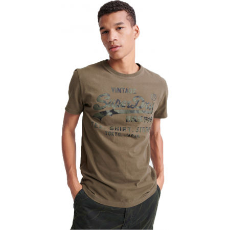 Superdry VL SHIRT SHOP BONDED TEE