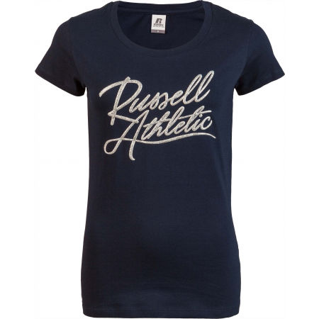 Russell Athletic A0-150-1-190 SCRIPT S/S  CREWNECK TEE SHIRT