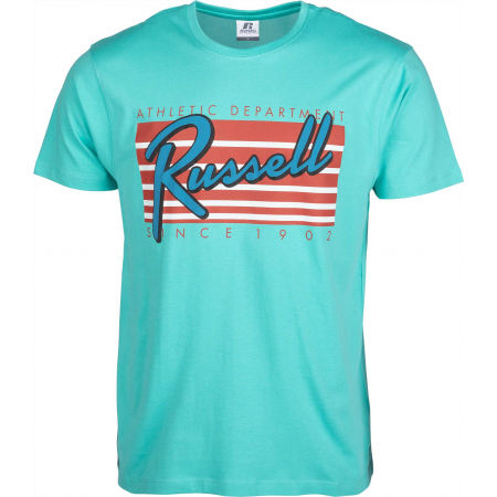 Russell Athletic A0-019-1-213 MIAMI S/S  CREWNECK TEE SHIRT