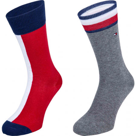 Tommy Hilfiger MEN ICONIC FLAG SOCK 2P