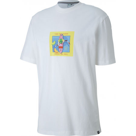 Puma DOWNTOWN GRAPHIC TEE