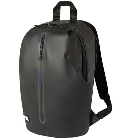 New Era ZIP THROUGH BLACK RUCKSACK