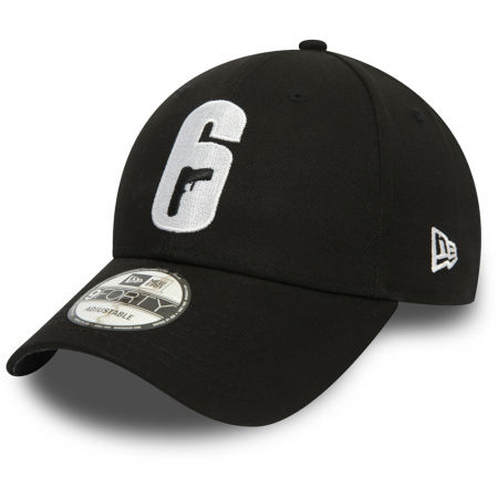 New Era 9FORTY RAINBOW SIX SIEGE BLACK