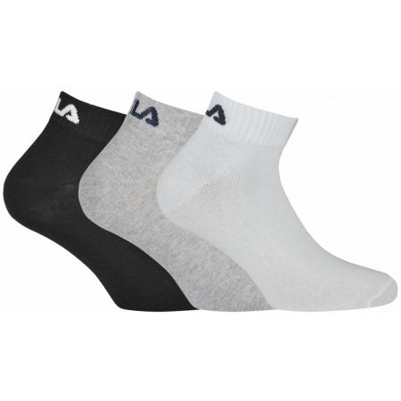 Fila QUARTER PLAIN SOCKS 3P