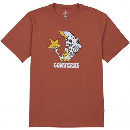 Converse SKULL GRAPHIC LOGO 1 SHORT SLEEVE TEE