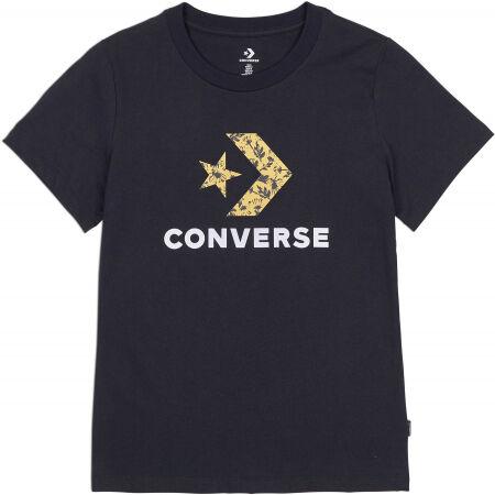 Converse FLORAL STAR CHEVRON GRAPPHIC TEE