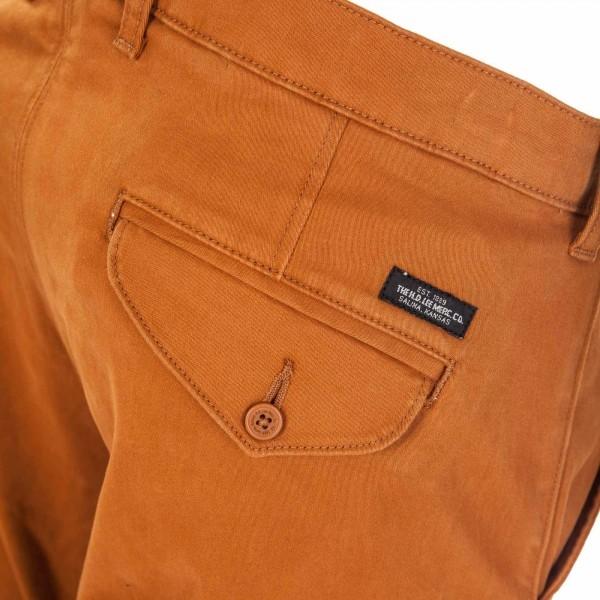 CHINO GLAZED GINGER - Pantaloni de bărbați
