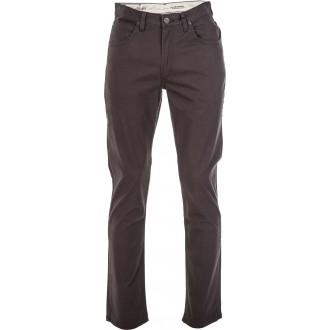 BROOKLYN STRAIGHT PIRATE BLACK - Pantaloni de bărbați