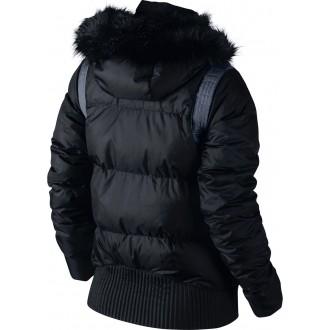 ALLIANCE BOMBER-550 HOODE - Jachetă de puf pentru femei
