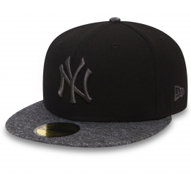 New Era 59FIFTY GREY NEW YORK YANKEES