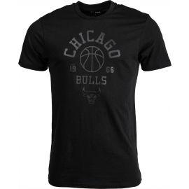 New Era NBA TONAL BASKETBALL TEE CHICAGO BULLS BLK