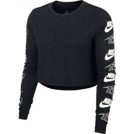 Nike NSW TEE LS FUTURA FLIP CROP