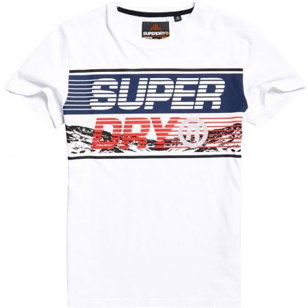 Superdry DOWNHILL PHOTOGRAPHIC TEE