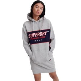 Superdry GRAPHIC PANEL SWEAT DRESS