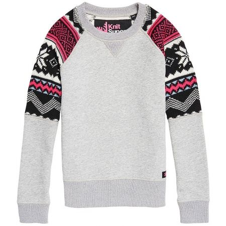 Superdry COURCHEVEL KNIT MIX JUMPER