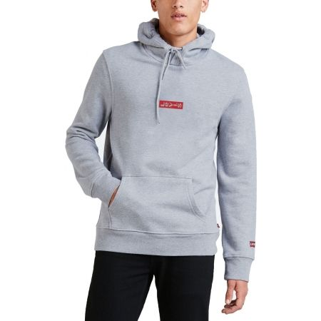 Levi's HOODIE 2.0 CORE 40 FLEECE MID TONE GREY