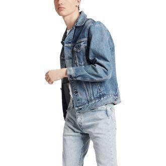 Jachetă trucker de bărbați
