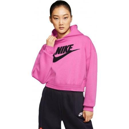 Nike NSW ICN CLSH FLC HOODIE BB W